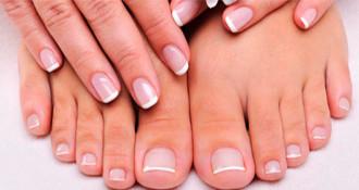 Shellac fransk lakering - fødder